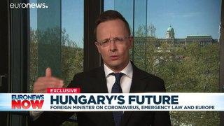 Coronavirus: Hungary minister says criticism of Viktor Orban's new powers are 'simply fake'