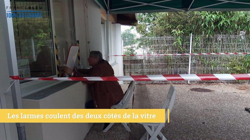 Des retrouvailles pleines d'émotions dans un Ehpad de Charente-Maritime.
