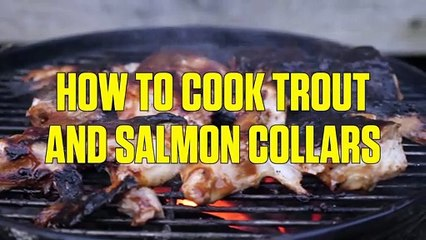 How to Grill Salmon and Trout Collars