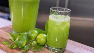 Agua fresca de limón completo