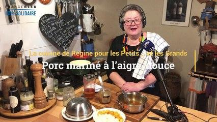 La recette du porc mariné à l'aigre-douce de Régine