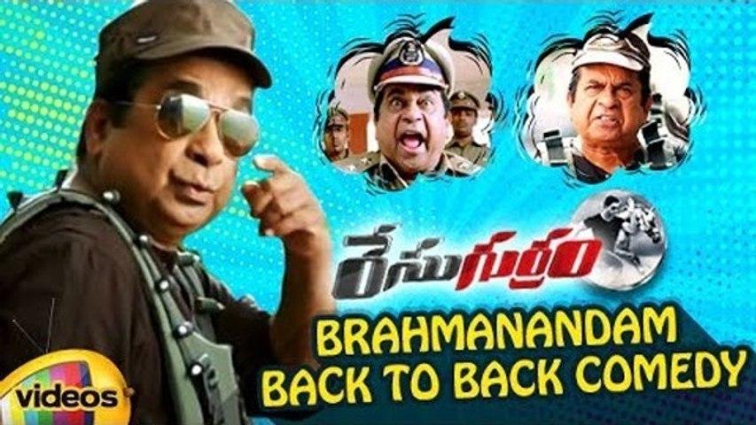 Race Gurram Telugu Movie - Brahmanandam Back to Back Comedy Scenes - Allu Arjun - Shruti Haasan