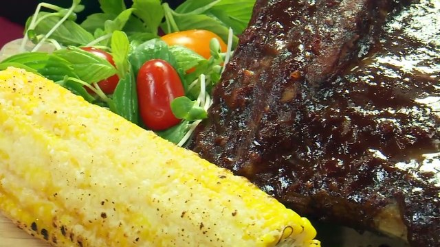 Super Tasty_ Grilled Pork Ribs With Chocolate - How to Make Perfect Grilled Pork Ribs - Love Cuisine