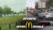 Confinement: des McDonald's pris d'assaut en région parisienne