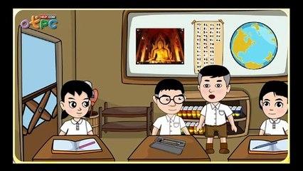 สื่อการเรียนการสอน โอวาท 3 (การไม่ทำความชั่ว) ป.3 สังคมศึกษา