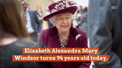 Queen Elizabeth Is 94 Years Young