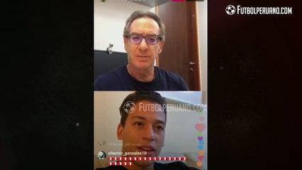 CRISTIAN BENAVENTE Y EDDIE FLEISCHMAN: VIDEOLLAMADA DESDE FRANCIA