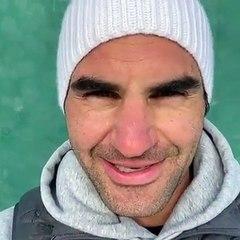 Le message de Roger Federer sur ses réseaux sociaux