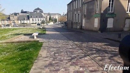 Bayeux (Calvados) en période de confinement. Avril 2020.