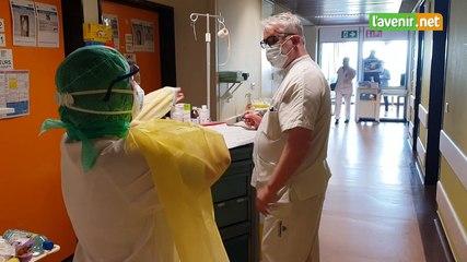 Liège - un patient guéri du Covid-19