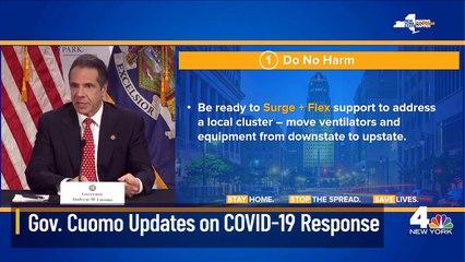 Cuomo Updates on Coronavirus Response in New York