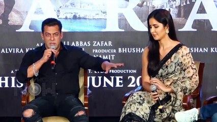 Salman Khan Calls Katrina Kaif 'Meri Jaan' In Public, Katrina Walks off Leaving Salman Alone Bharat