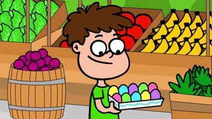 Cântece pentru copii - Oare ce e în ou?