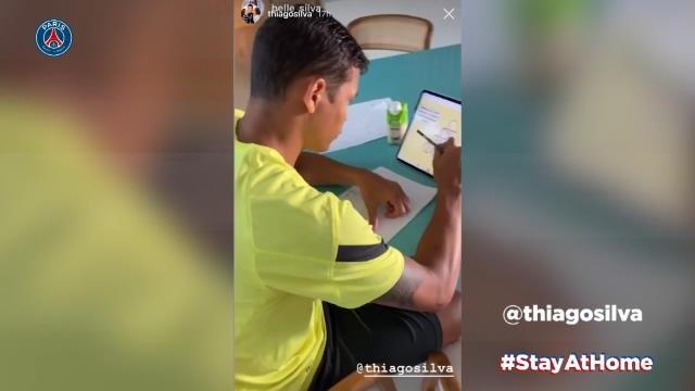 Coronavirus - Thiago Silva se teste : comment les joueurs du PSG vivent leur confinement