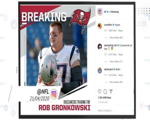 Socialeyesed - Rob Gronkowski's surprise move to Tampa Bay