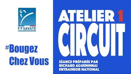 SAVATE boxe française - Entraînement Circuit #01 / #BOUGEZCHEZVOUS…⏱  … avec Mathilde MIGNIER