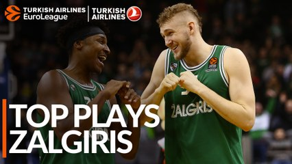 Top Plays: Zalgiris Kaunas