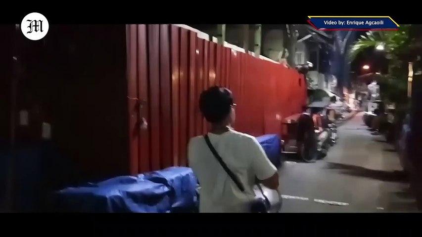 WATCH: Hard Lockdown in Sampaloc, Manila