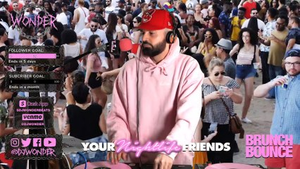 DJ Wonder - Brunch Bounce #YourNightlifeFriends Broadcast - 4-22-20