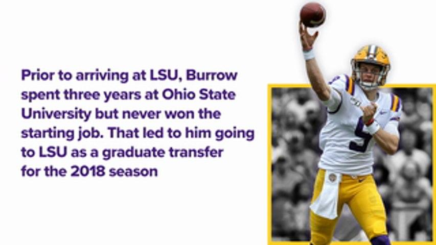 Up Next: Joe Burrow