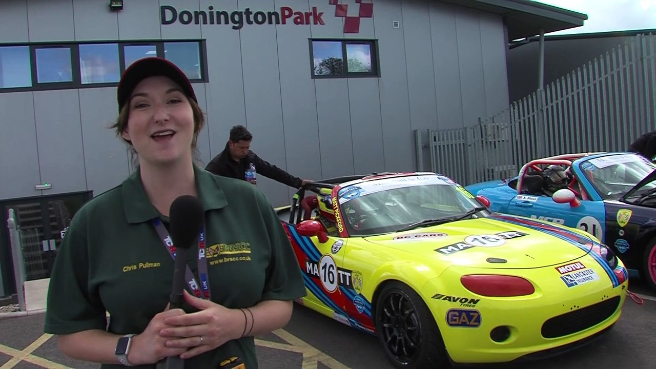 BRSCC Mazda mx5 Super Cup 2019 RD 6 Donington International HD
