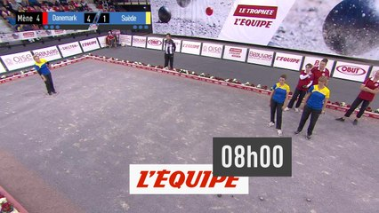 Trophée l'Equipe - Triplettes (F) - Poule B - Partie des perdantes - Pétanque - Replay