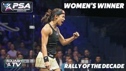 PSA SquashTV Rally of the Decade - Women's Winner