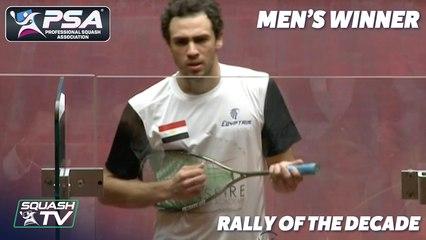 PSA SquashTV Rally of the Decade - Men's Winner