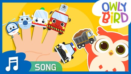 Vehicles Finger Family | All About Vehicle ✈⛵| Nursery Rhymes | OwlyBird