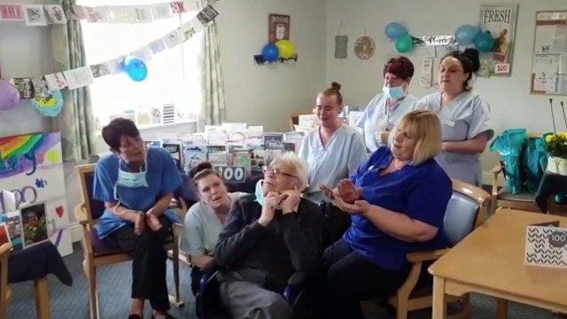 Harry Melling's 100th birthday