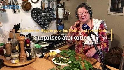 Recette de surprises aux orties pour l'apéritif de Régine