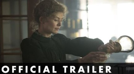 RADIOACTIVE - Official Trailer - Starring Rosamund Pike