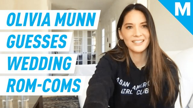 Olivia Munn guesses the titles of her favorite wedding rom-coms