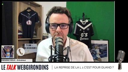 """Frédéric Roux : """"Je pense que les joueurs sont impatients de reprendre la compétition"""""""""""