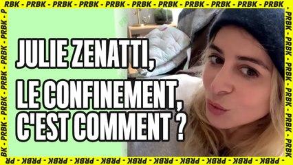 """Julie Zenatti confinée : """"Je remercie la Pat' Patrouille d'exister"""""""