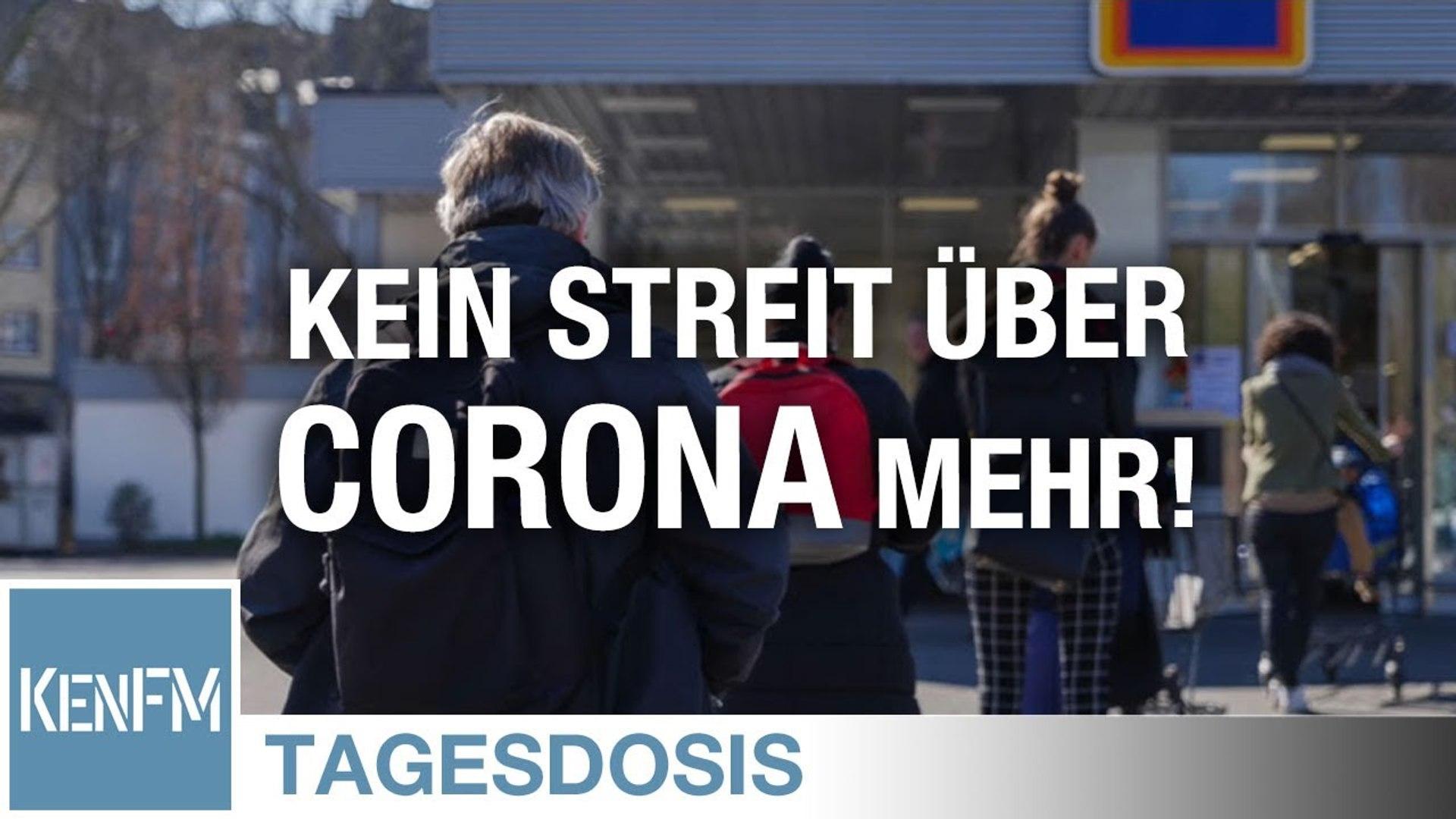 Tagesdosis 25.4.2020 - Hört auf über Corona zu streiten - Denn im Schatten von Corona geschieht Unge