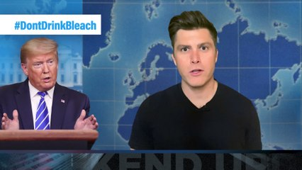 Weekend Update Home Edition: Trump Suggests Injecting Disinfectant