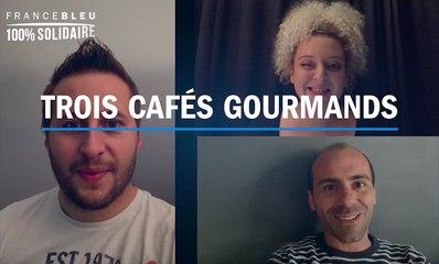 Trois Cafés Gourmands ont un message pour les auditeurs de France Bleu