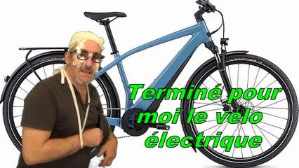 Terminé pour moi le vélo a assistance électrique !!!