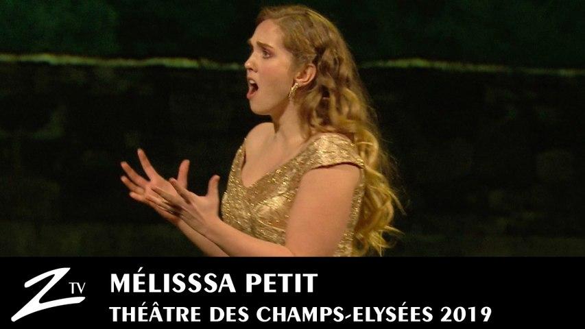 Les Mozart de l'Opéra - Melissa Petit - Ah non Credea - La Sonnambula Bellini - Paris 2019