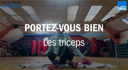Confinement : travailler les triceps