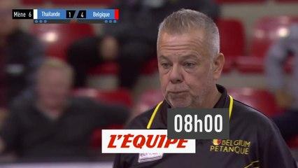 Trophée L'Equipe - Individuel Hommes - Poule A - Partie des perdants - Pétanque - Replay