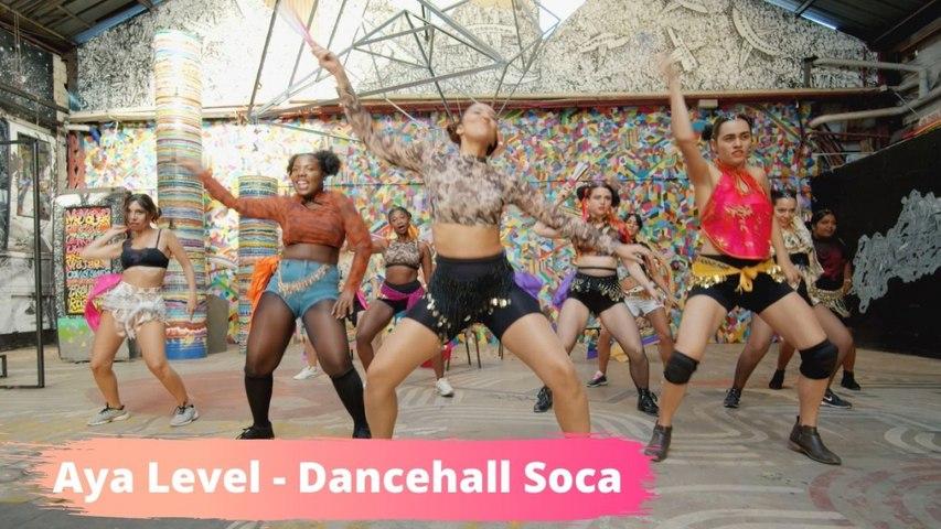 MR KILLA - PARTY BAD - DANCEHALL SOCA CHOREO BY AYA LEVEL