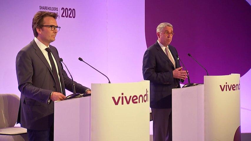 Monsieur Arnaud de Puyfontaine - Faits marquants et perspectives - Assemblée générale mixte de Vivendi 2020