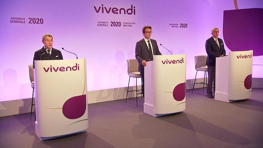 Monsieur Frédéric Crépin - Résultat des votes des résolutions - Assemblée générale mixte de Vivendi 2020