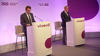 Mister Yannick Bolloré - Opening of the session - Vivendi's Shareholders' Meeting 2020
