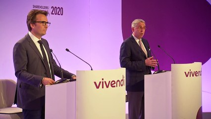 Mister Arnaud de Puyfontaine - Highlights and outlook - Vivendi's Shareholders' Meeting 2020
