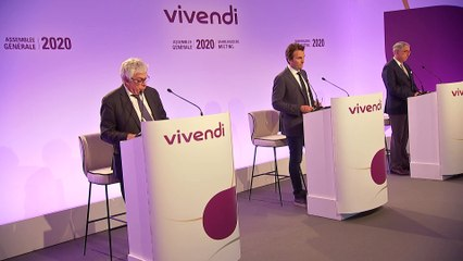Mister Hervé Philippe - Annual results - Vivendi's Shareholders' Meeting 2020