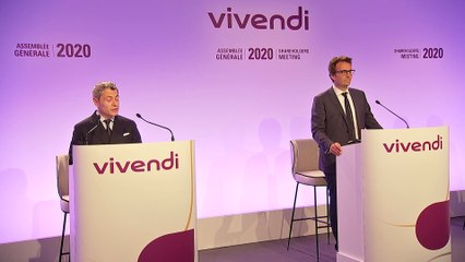 Mister Frédéric Crépin - Questions & answers - Vivendi's Shareholders' Meeting 2020