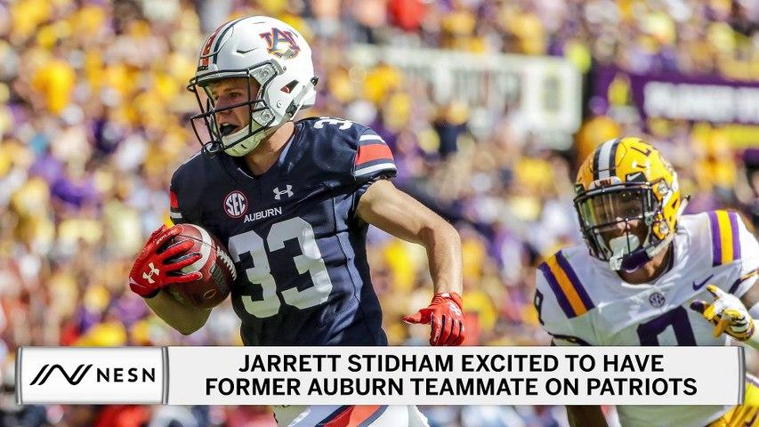 Jarrett Stidham Is Pumped To Have Auburn Teammate On The Patriots